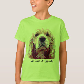 Cocker Spaniel Attitude Girl's T-shirt