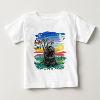 Cocker Spaniel (black) Baby T-Shirt