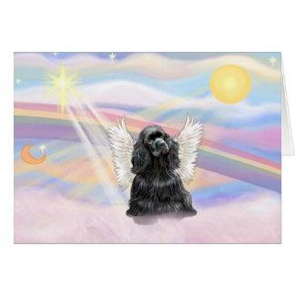 Cocker Spaniel - black Card