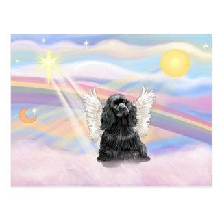 Cocker Spaniel - black Postcard