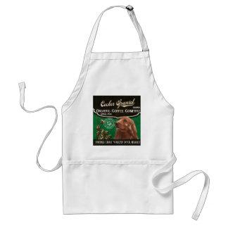 Cocker Spaniel Brand – Organic Coffee Company Adult Apron