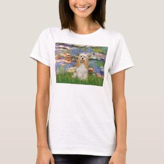 Cocker Spaniel (buff 1) - Lilies 2 T-Shirt