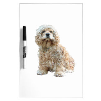 Cocker Spaniel (Buff #2) Dry-Erase Whiteboard