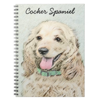 Cocker Spaniel (Buff) Notebook