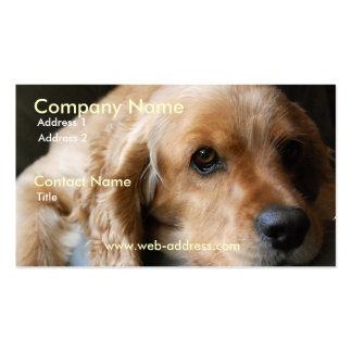 Cocker Spaniel Business Card