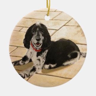 Cocker Spaniel Ceramic Ornament