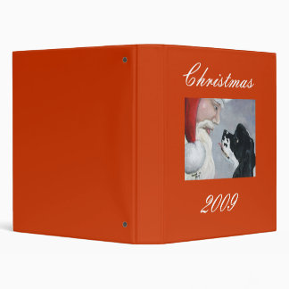Cocker Spaniel Christmas 2009 Binder