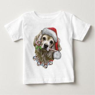 Cocker Spaniel Christmas Infant T-shirt
