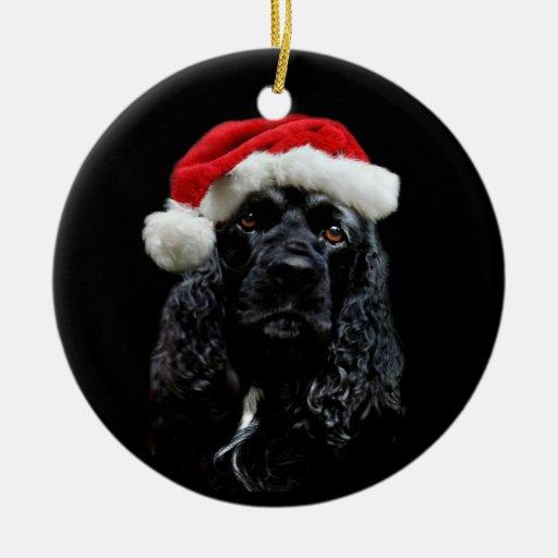 Cocker Spaniel Christmas Ornaments