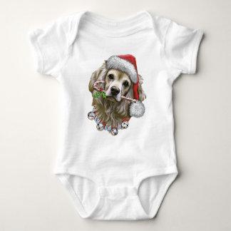 Cocker Spaniel Christmas Tee Shirt