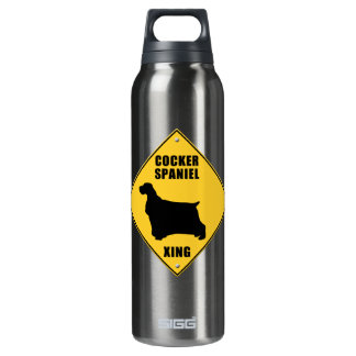 Cocker Spaniel Crossing (XING) Sign SIGG Thermo 0.5L Insulated Bottle