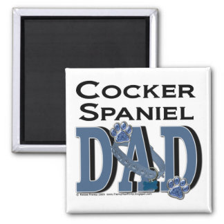Cocker Spaniel DAD Refrigerator Magnet