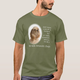 Cocker Spaniel Dad T-Shirt