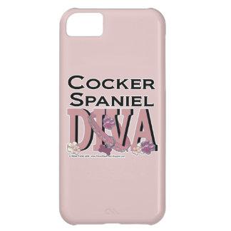 Cocker Spaniel DIVA iPhone 5C Covers