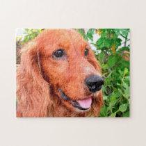 Cocker Spaniel Dog Jigsaw Puzzle