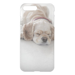 Uncommon iPhone 7 Plus Clearly™ Deflector Case with Cocker Spaniel Phone Cases design