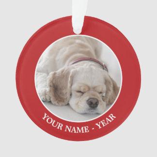 Cocker spaniel dog sleeping ornament