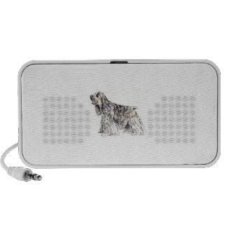 Cocker Spaniel Doodle Portable Speaker