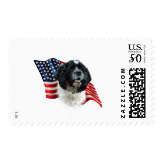 Cocker Spaniel Flag Postage