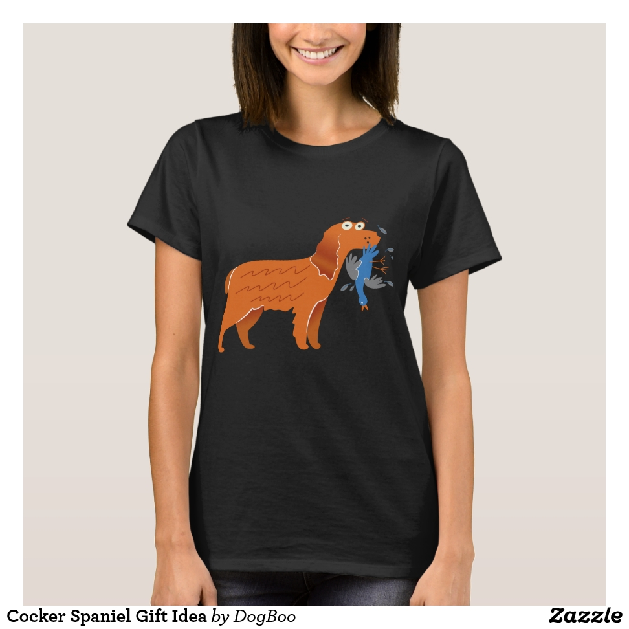 Cocker Spaniel Gift Idea T-Shirt - Best Selling Long-Sleeve Street Fashion Shirt Designs