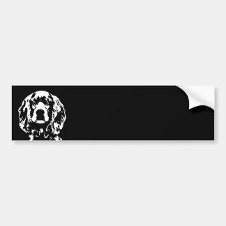 Cocker Spaniel Gifts - Bumper Sticker Car Bumper Sticker