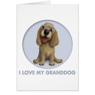 Cocker Spaniel Granddog Card