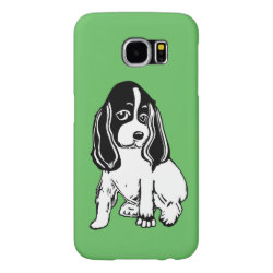 Case-Mate Barely There Samsung Galaxy S6 Case with Cocker Spaniel Phone Cases design
