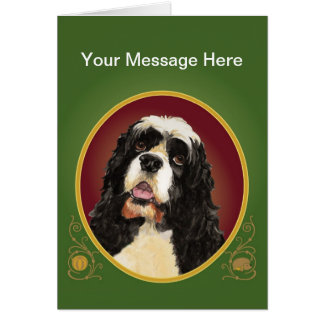 Cocker Spaniel Greeting Card
