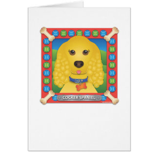 Cocker Spaniel Greeting Cards