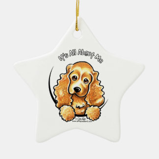 Cocker Spaniel IAAM Ceramic Ornament