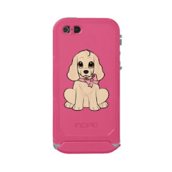 Incipio Feather Shine iPhone 5/5s Case with Cocker Spaniel Phone Cases design