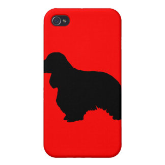 Cocker spaniel iPhone 4/4S covers
