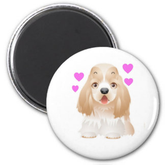 Cocker Spaniel Love Magnet