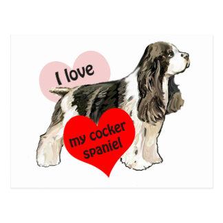 Cocker Spaniel Love Post Card
