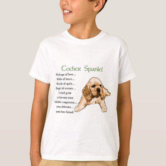 Cocker Spaniel Lovers Gifts T-Shirt