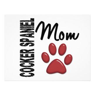 Cocker Spaniel Mom 2 Flyer Design