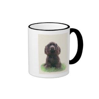 Cocker Spaniel Ringer Coffee Mug