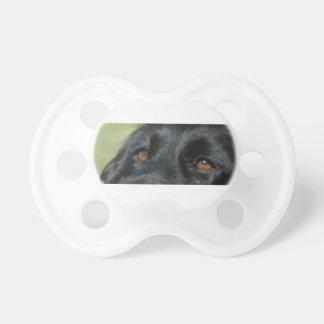 cocker spaniel negro eyes.png chupete