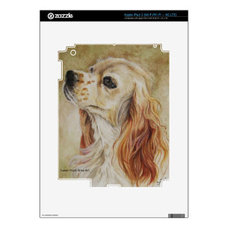 Cocker Spaniel Notebook iPad 3 Decals