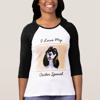 Cocker Spaniel (Parti-Colored) T-Shirt
