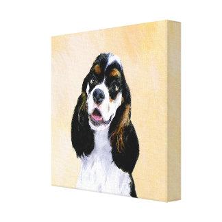 Cocker Spaniel (Parti) Painting - Original Dog Art Canvas Print