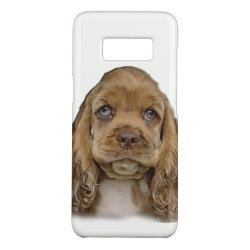 Case-Mate Barely There for Samsung Galaxy S8 Case with Cocker Spaniel Phone Cases design