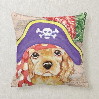 Cocker Spaniel Pirate Pillow