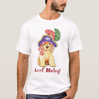 Cocker Spaniel Pirate T-Shirt