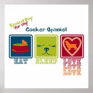 Cocker Spaniel Poster