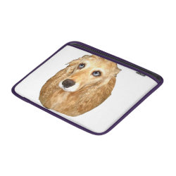 Macbook Air Sleeve with Cocker Spaniel Phone Cases design