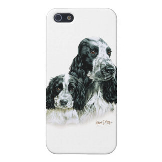 Cocker Spaniel & Pup Case For iPhone SE/5/5s