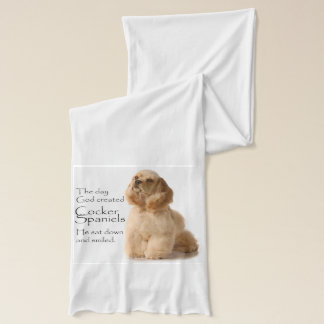 Cocker Spaniel Scarf