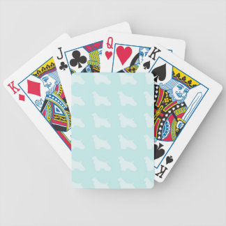 Cocker Spaniel Silhouette Playing Cards