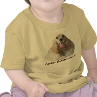 Cocker Spaniel Smiling Toddler Unisex T-Shirt